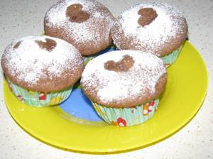 Lovely Banana-Nutella Muffins for toddlers